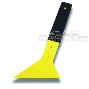 Уголок желтый с ручкой