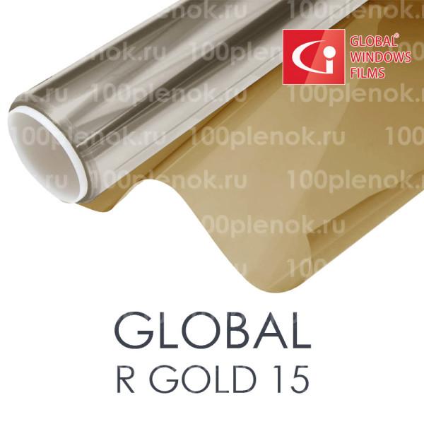 Тонировочная пленка золотая 15