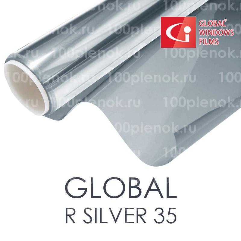 Тонировочная пленка global r silver 35